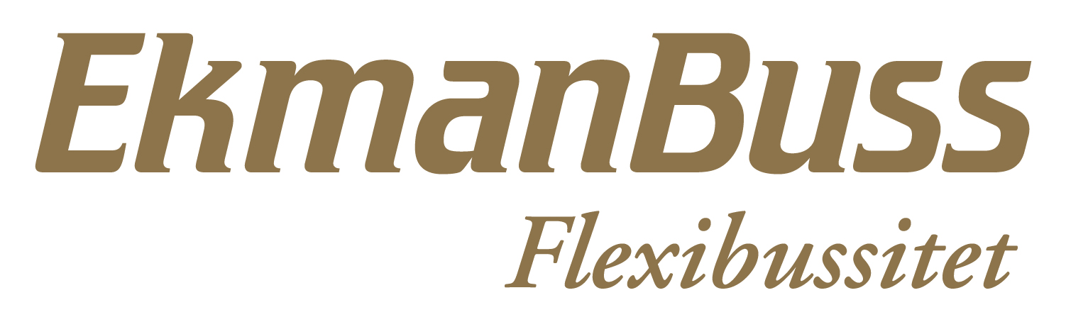 EkmanBuss Flexibussitet logo