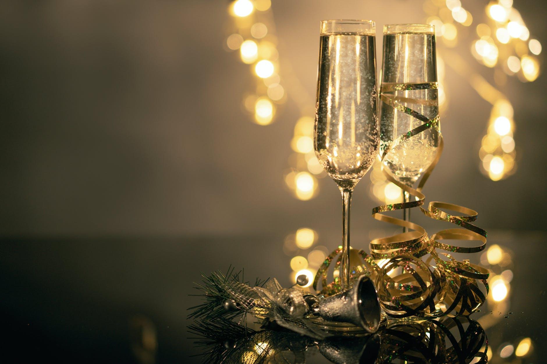 Nyårsfirande på Stadsberget